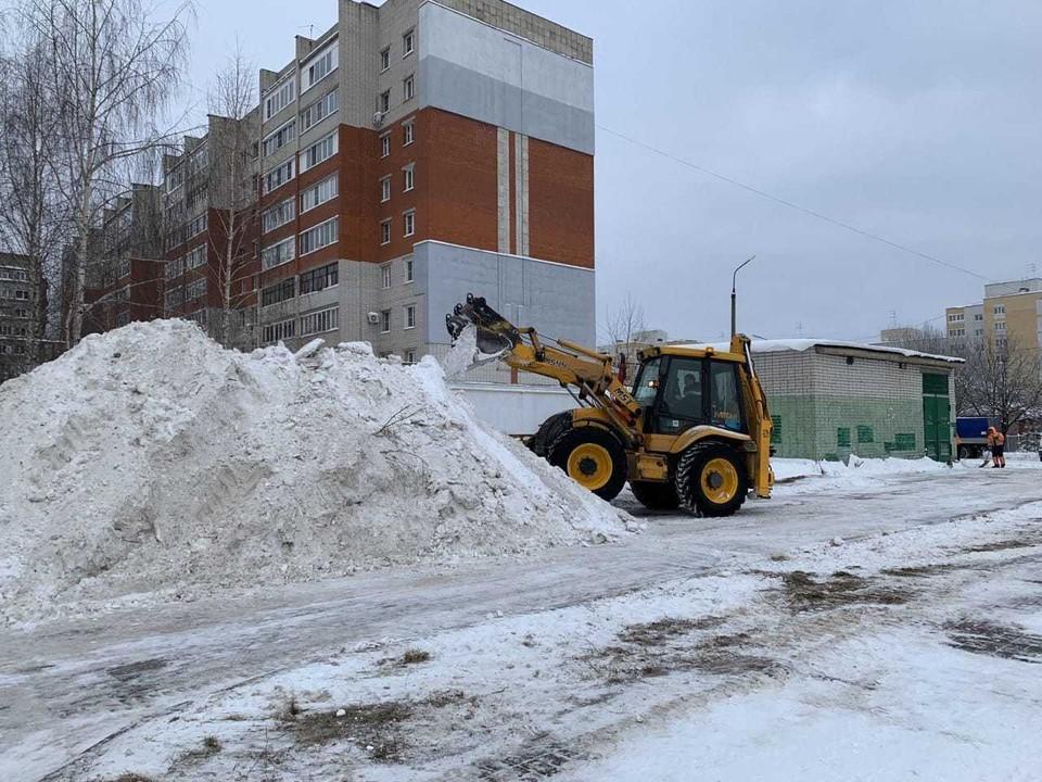 С начала года в Центр управления регионом поступило более 300 обращений от жителей по теме уборки снега.