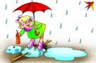 Тверь промокнет от дождей - доставай-ка зонт скорей!