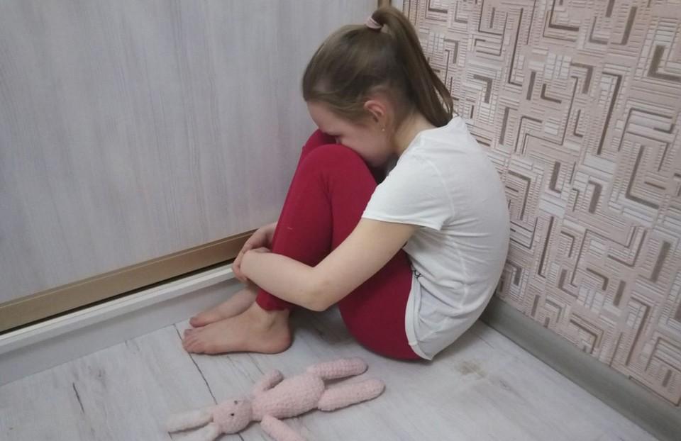 Девочка ни разу не была в школе и практически не выходила на улицу