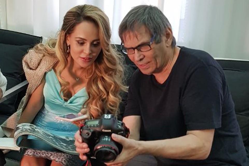 Анна Калашникова и Бари Алибасов.