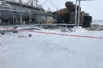Взрыв на нефтяном предприятии в Татарстане: погибли два рабочих