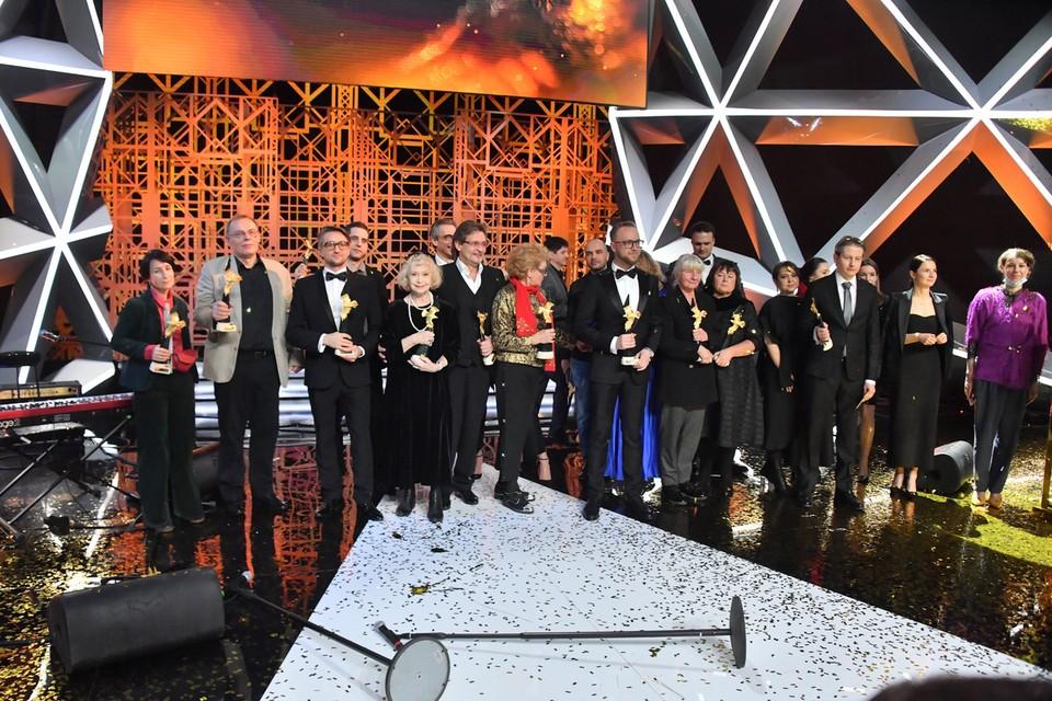 В Первом павильоне «Мосфильма» в 19-й раз вручили одну из главных российских кинопремий.