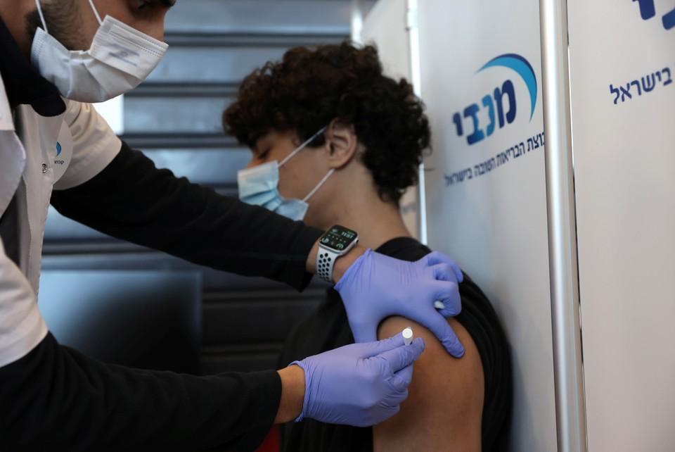 Вакцинация от коронавируса в Израиле.