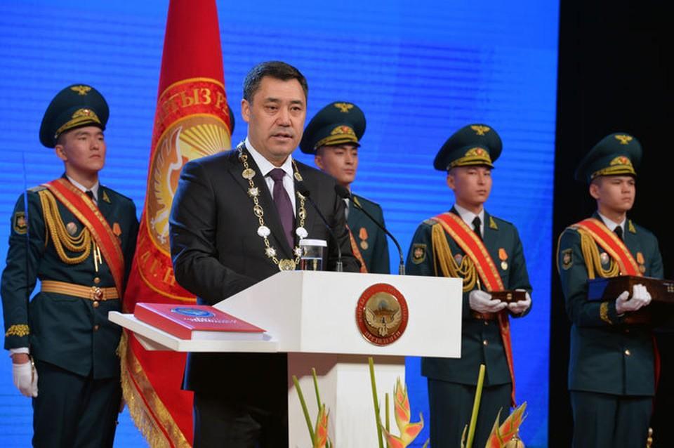 «Это колоссальная ответственность»: что сказал на инаугурации шестой президент Кыргызстана
