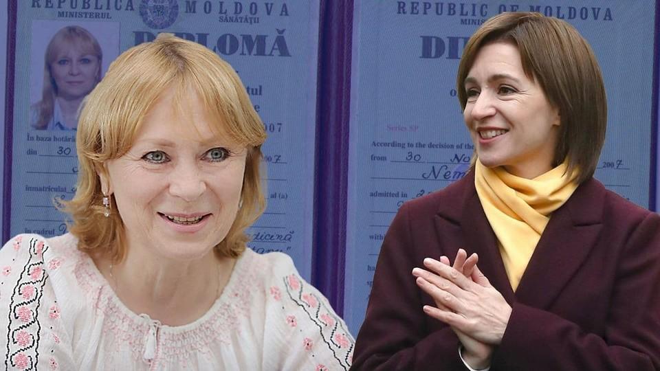 Диплом Немеренко был выдан незаконно, но Санду считает, что все в порядке.