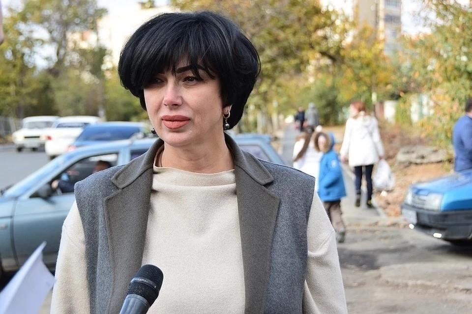 Елена Проценко. Фото: пресс-служба администрации Симферополя
