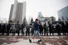 Несанкционированная акция 31 января: Количество протестующих сократилось на порядок