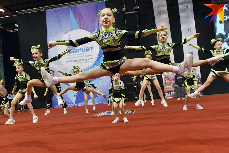 31 января в минском Дворце спорта прошли Республиканские соревнования и Кубок Республики Беларусь по чирлидингу-2021.