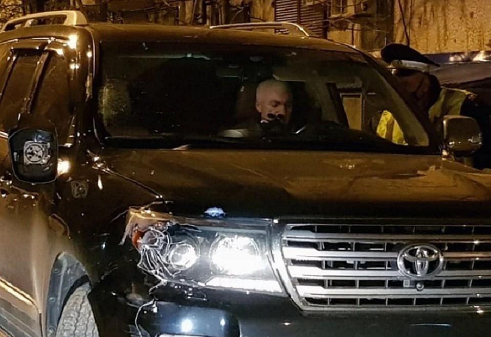 Судья Краснодарского краевого суда Юрий Захарчевский после ДТП. Фото предоставлено родственниками погибшего