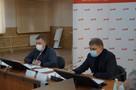 Глава РЖД Олег Белозеров и губернатор Иркутской области Игорь Кобзев обсудили вопросы экологии