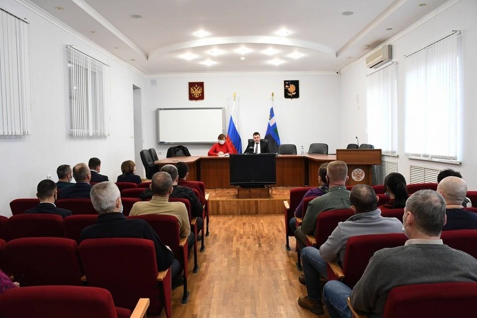 В Алексеевке совещались, как провести вакцинацию от коронавируса. Фото пресс-службы администрации Алексеевского городского округа