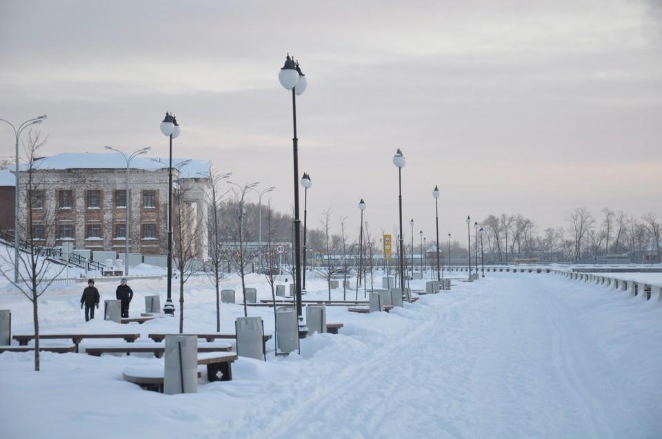В Ижевск пришли морозы, чтобы не замерзать, читайте наши новости