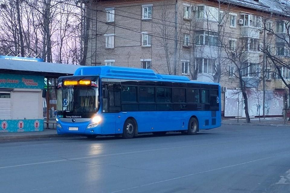 На общественный транспорт жалуются жители Хабаровска
