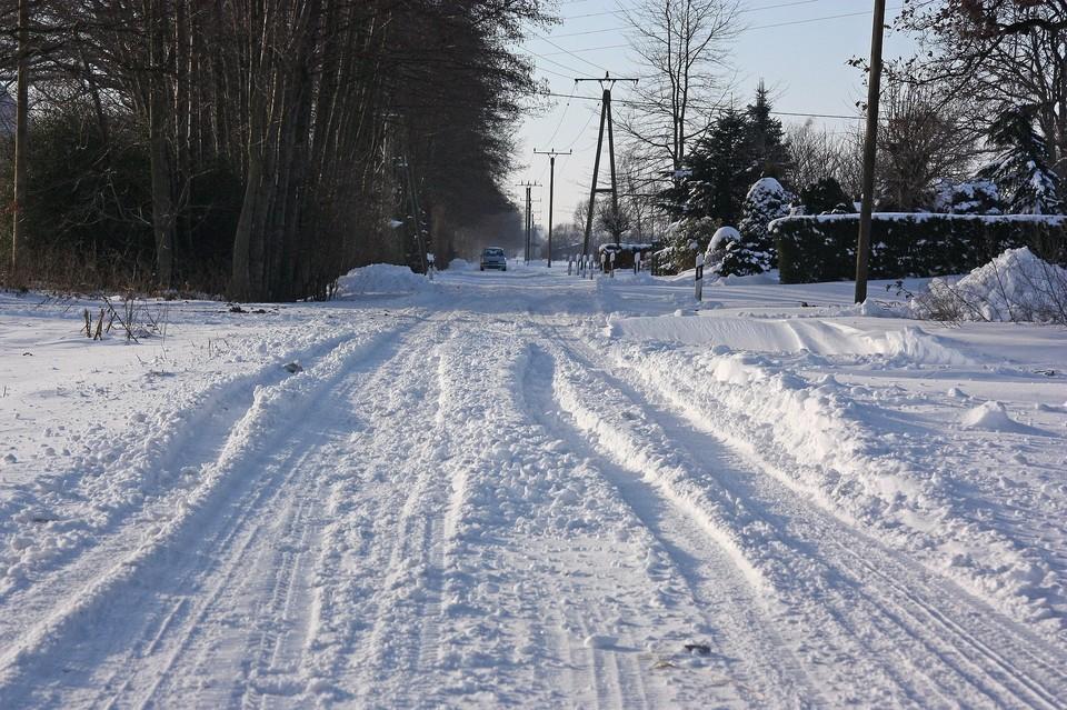 Некоторые участки дорог были перекрыты в связи с плохими погодными условиями