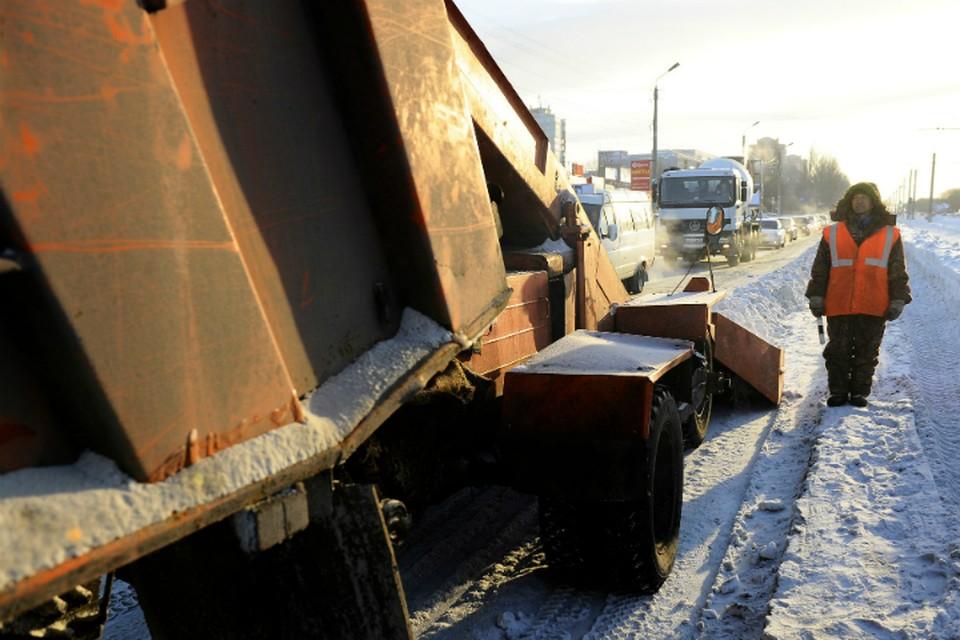 Качественно от снега в Омске почищено всего 20 дорог.