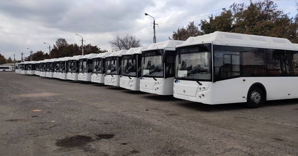 В Симферополе на маршрут №70 пустили 5 новых автобусов.