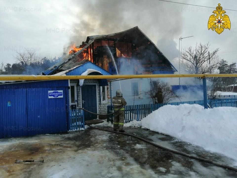 На место происшествия был направлен пожарный инспектор