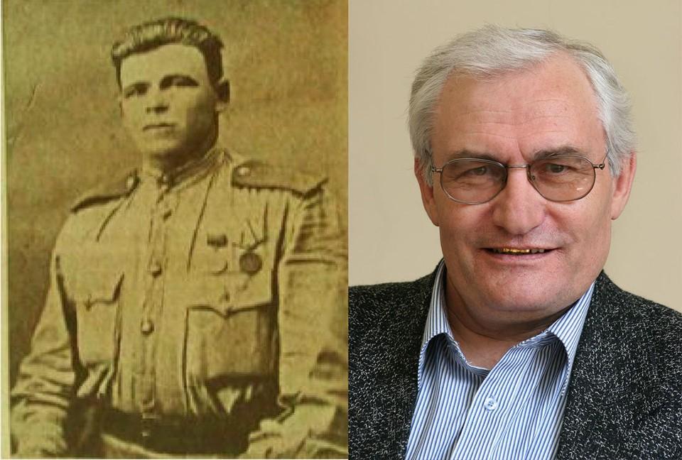 Тимофей Филиппов (слева) - герой книги Анатолия Муравлева (справа) на всю жизнь запомнил жару пыльных дорог Ирана