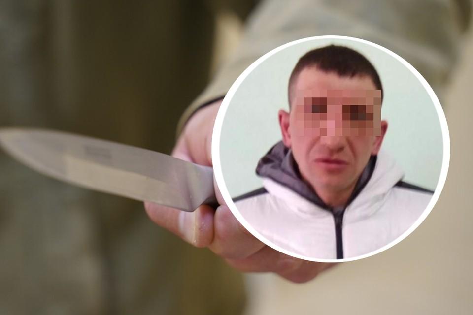 Потерпевший (на фото) вернулся из магазина и получил удар ножом. Фото: Светлана Маковеева // соцсети