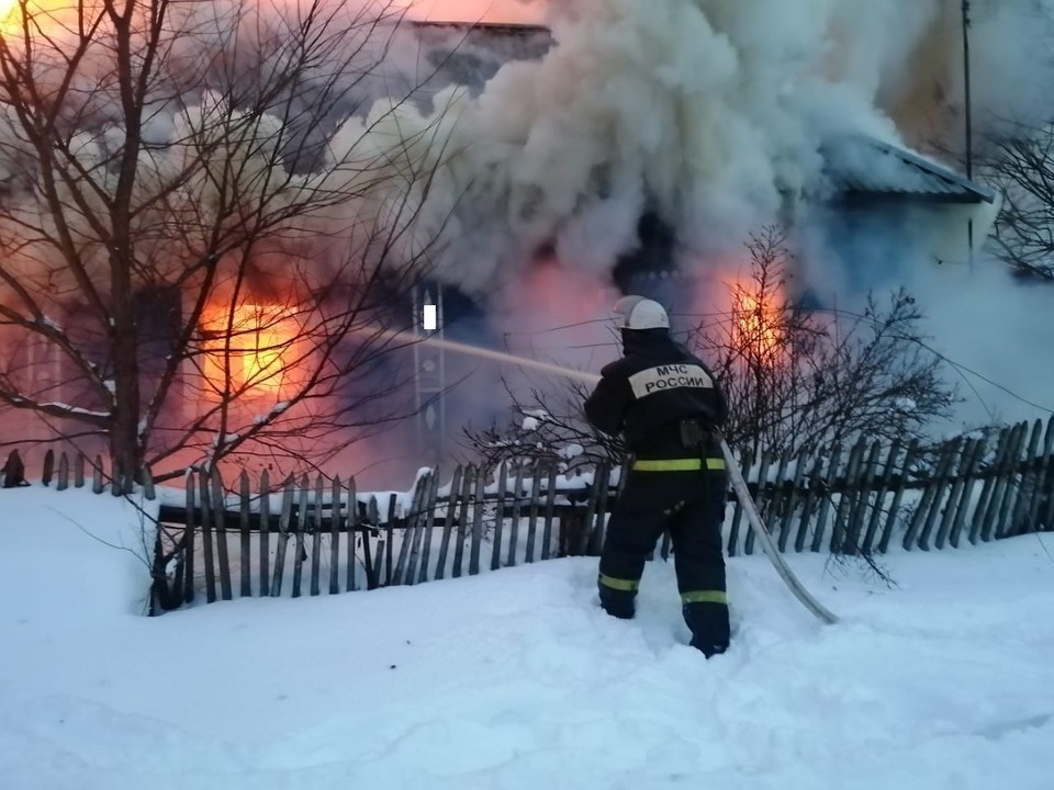 На место был направлен инспектор пожарного надзора