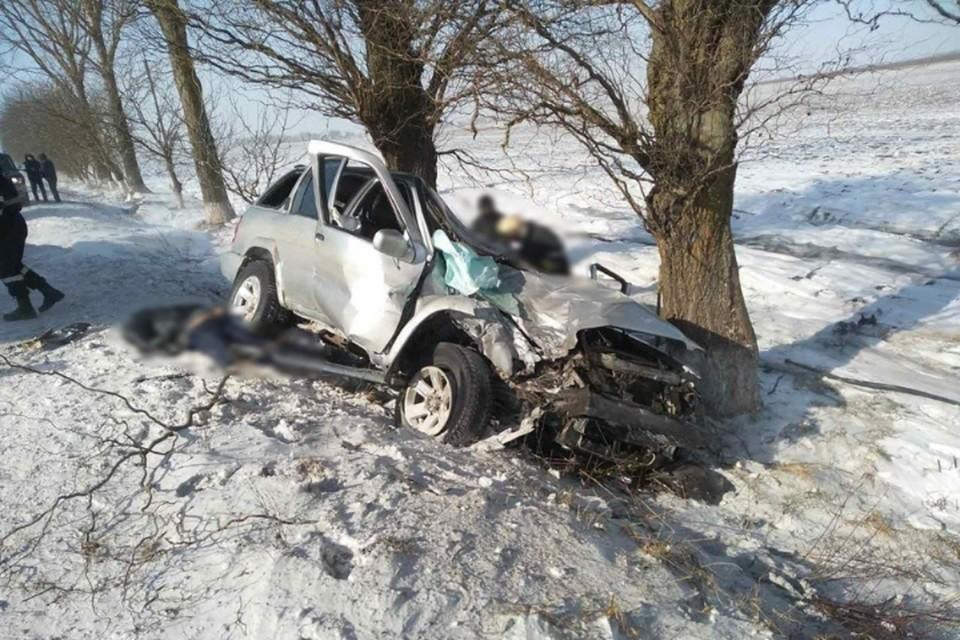 Место аварии. Фото Politia Republicii Moldova.