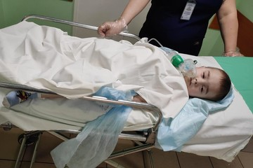 Малыш в заложниках у смерти