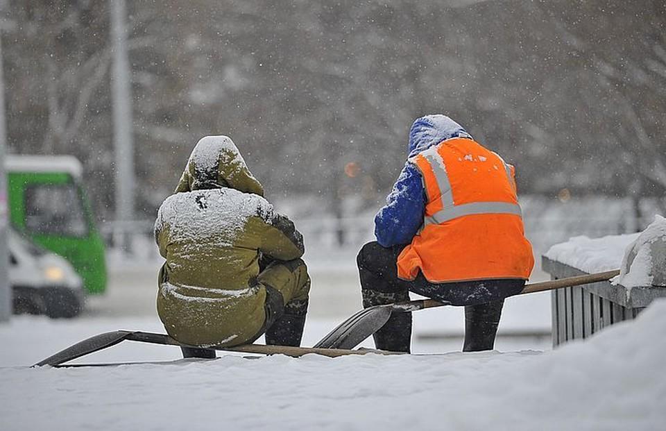 В Приморье снова снег