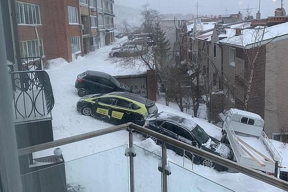 Массовое ДТП на Маньчжурской. Фото: Instagram/dpskontrol125rus