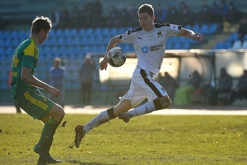 В «СКА-Хабаровске» будет играть защитник из «Краснодара»