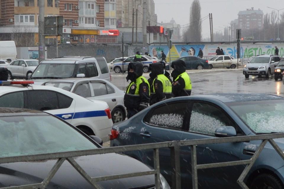 В Липецке прошел рейд ГИБДД по пьяным водителям