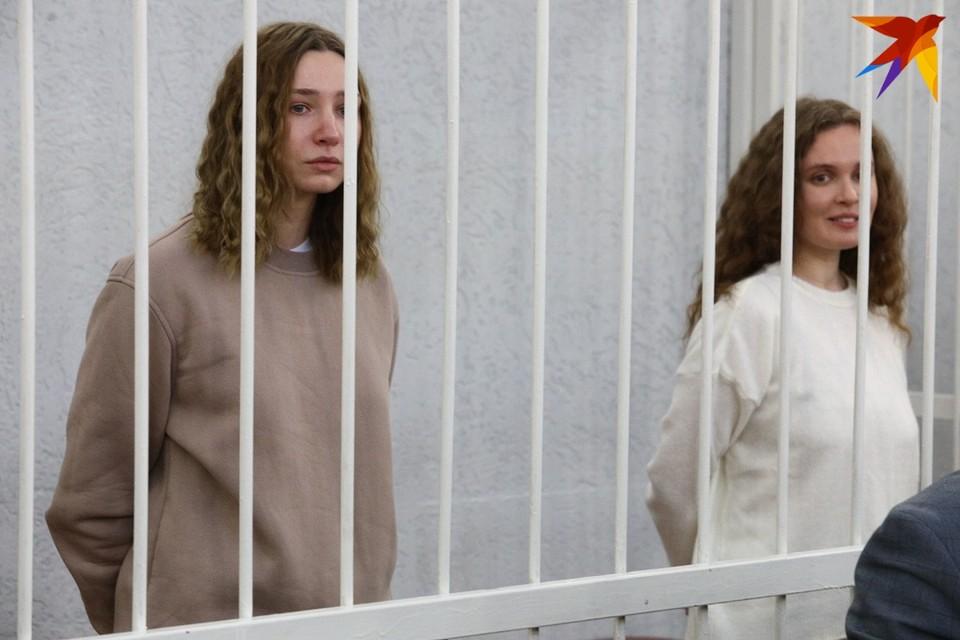 Журналисток «Белсата» судят в Минске.
