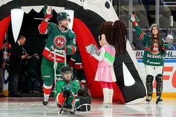 В Казани состоялся пятый юбилейный матч проекта «Хоккей каждому»
