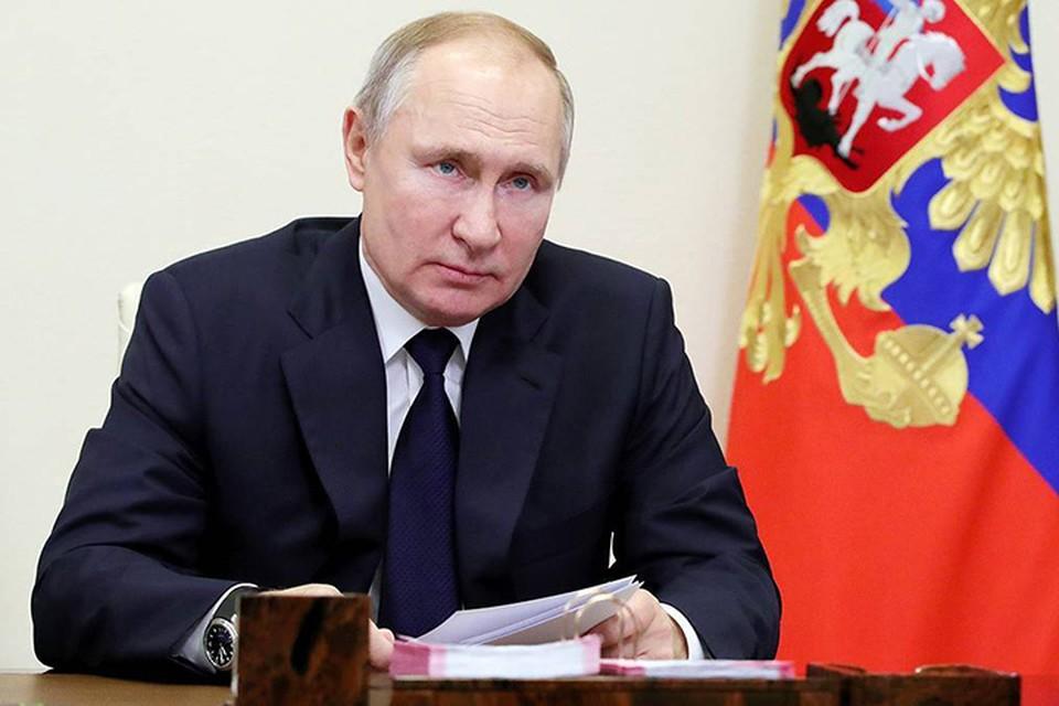 Владимир Путин одобрил инициативы партии (фото: Михаил Климентьев/РИА Новости)