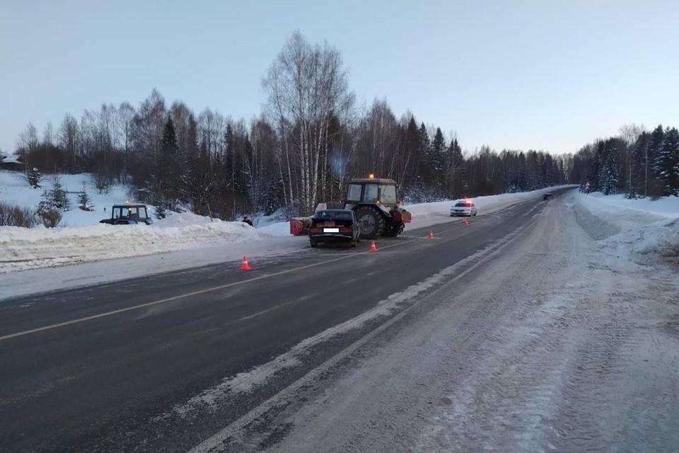 Авария произошла на 79-ом км автодороги Киров - Малмыж - Вятские Поляны. Фото: vk.com/gibdd43