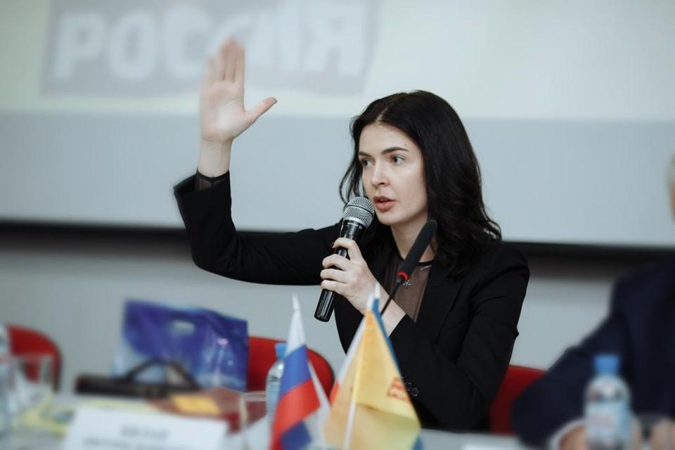 Делегатом съезда от Крыма избрана Секретарь бюро регионального отделения «СР» Виктория Билан.