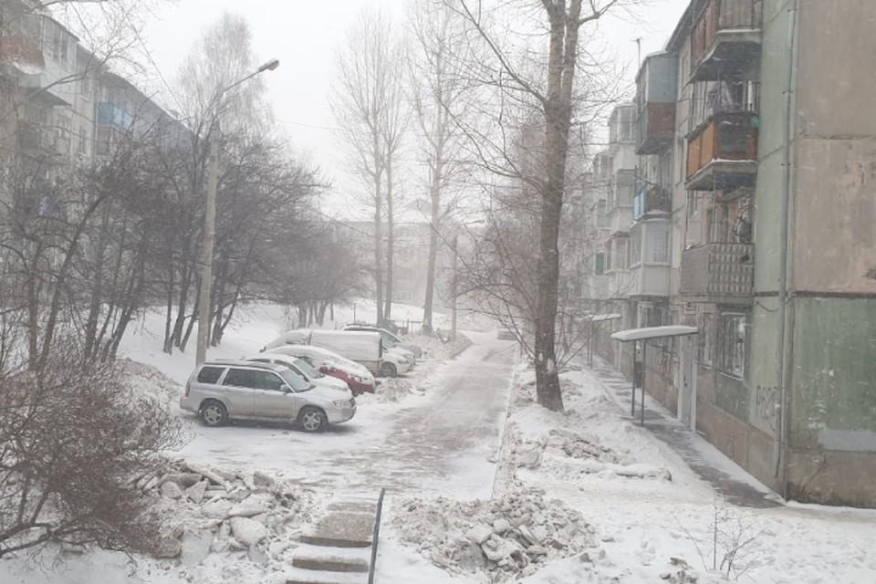 Когда утихнет метель в Иркутске, рассказали синоптики
