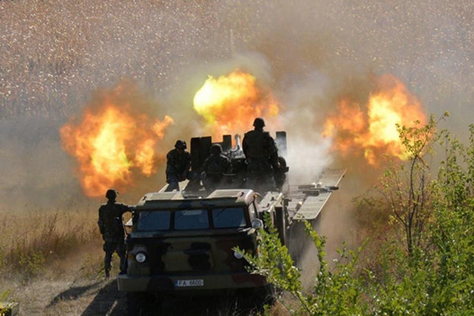 Каждые стрельбы превращаются в яркое шоу (Фото: Минобороны Молдовы).