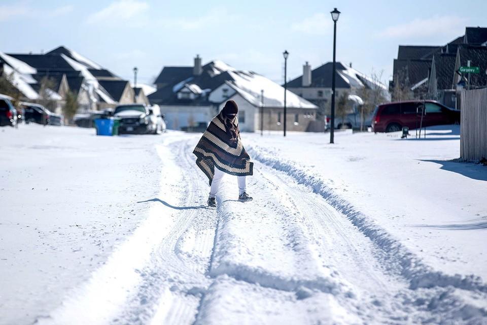 Непогода парализовала жизнь всей северо-восточной части страны