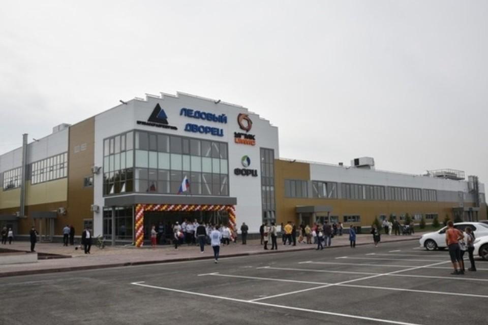Новому Дворцу спорта кузбассовцы попросили присвоить имя. ФОТО: пресс-служба АКО