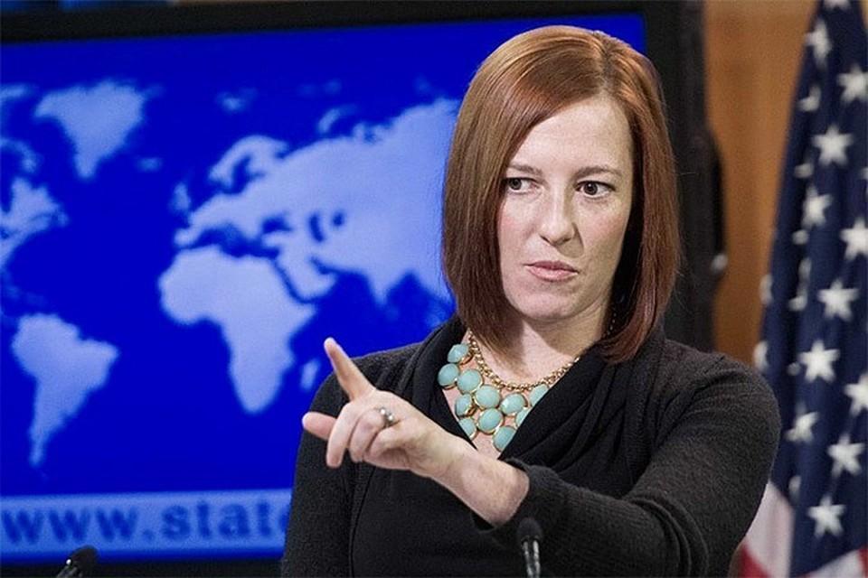 Пресс-секретарь президента США Дженнифер Псаки