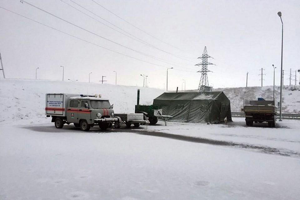 Крым сутки справлялся с последствиями снегопада. Фото: Пресс-служба администрации Краснодарского края