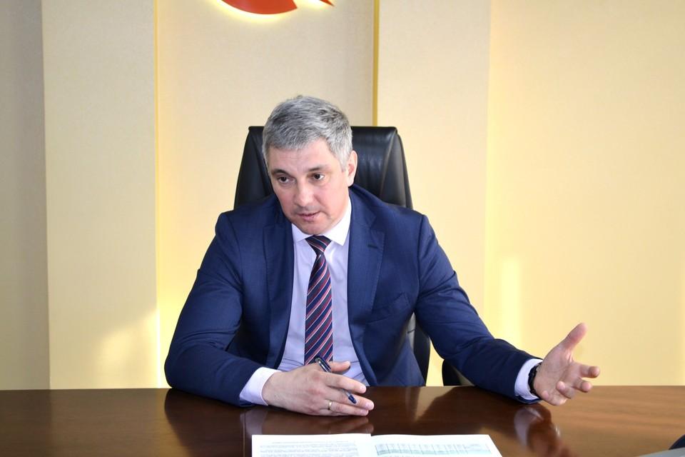 Генеральный директор энергокомпании Валерий Нагорнов