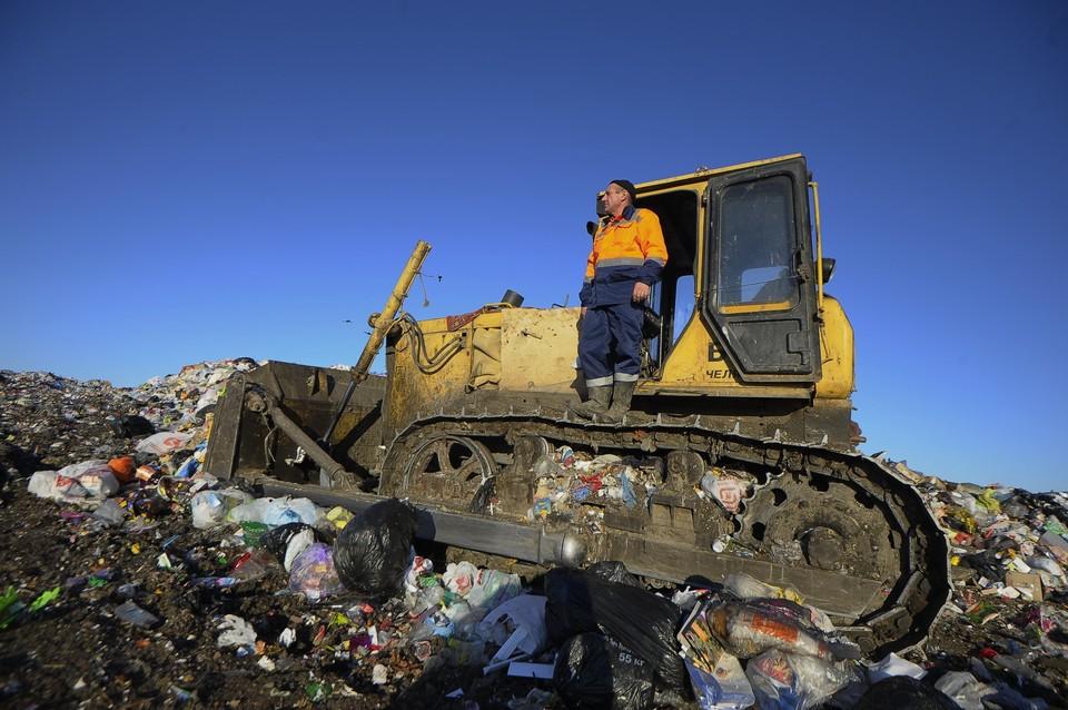 Пока что практически весь мусор на сотни лет оседает на полигонах