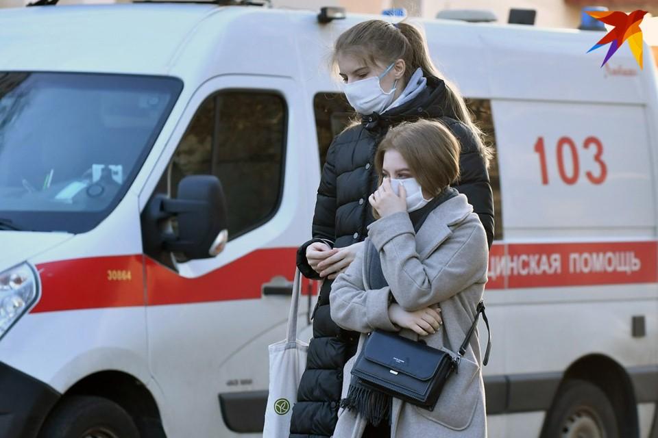 Количество случаев COVID-19 за сутки в Беларуси растет несколько дней подряд.
