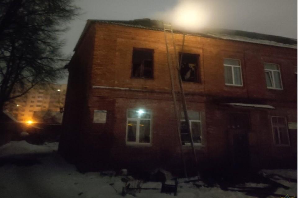 Ни хозяйка квартиры, ни ее соседи не пострадали. Фото: МЧС