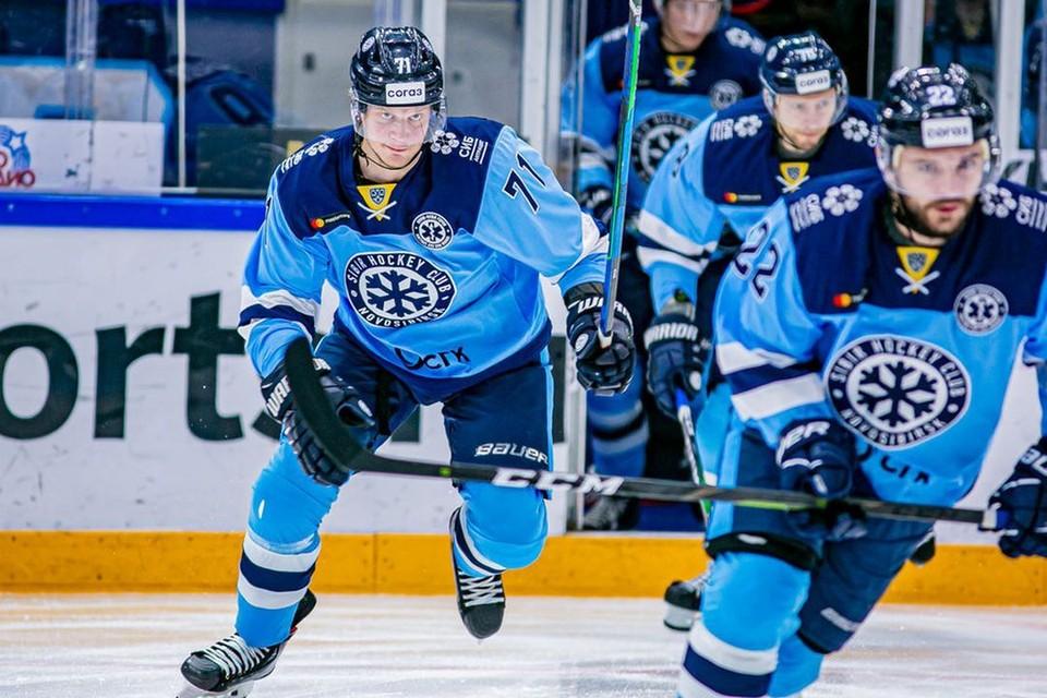 Хоккейная «Сибирь» разгромила «Барыс». Фото: hcsibir.ru