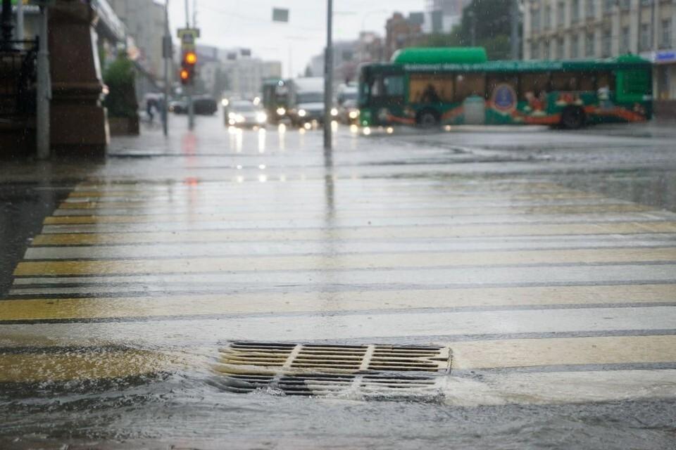 Протяженность ливневой канализации составит почти километр.