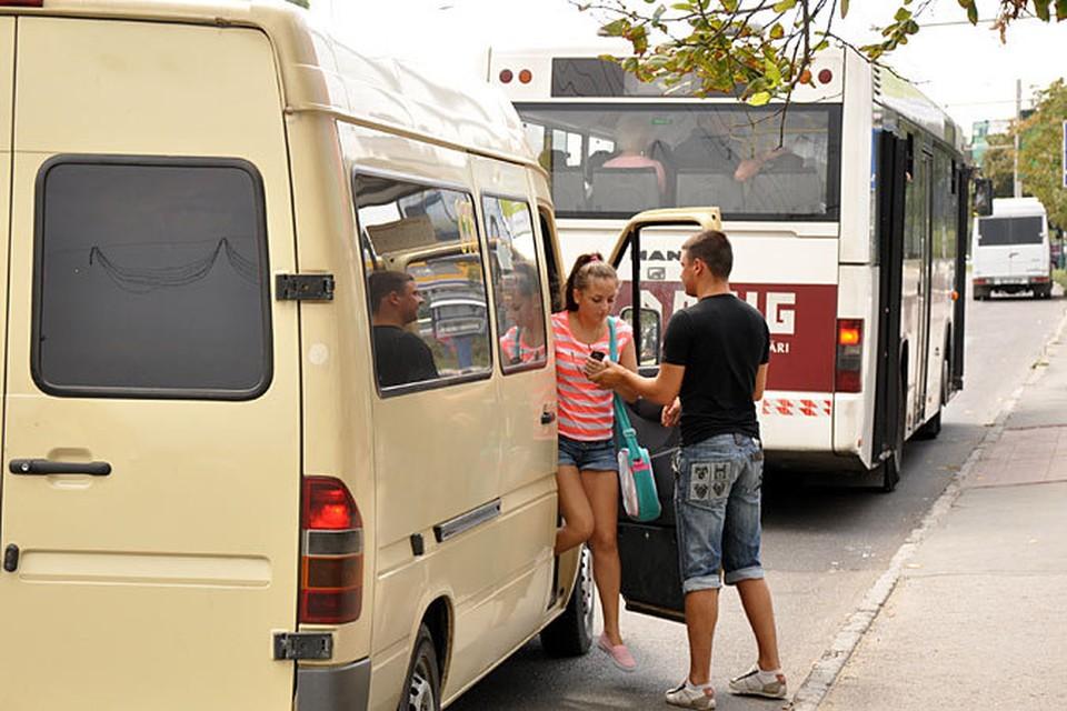 В Кишиневе осталось всего 300 маршруток.