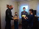Белгородские  росгвардейцы навестили семьи сотрудников, находящихся в служебной командировке