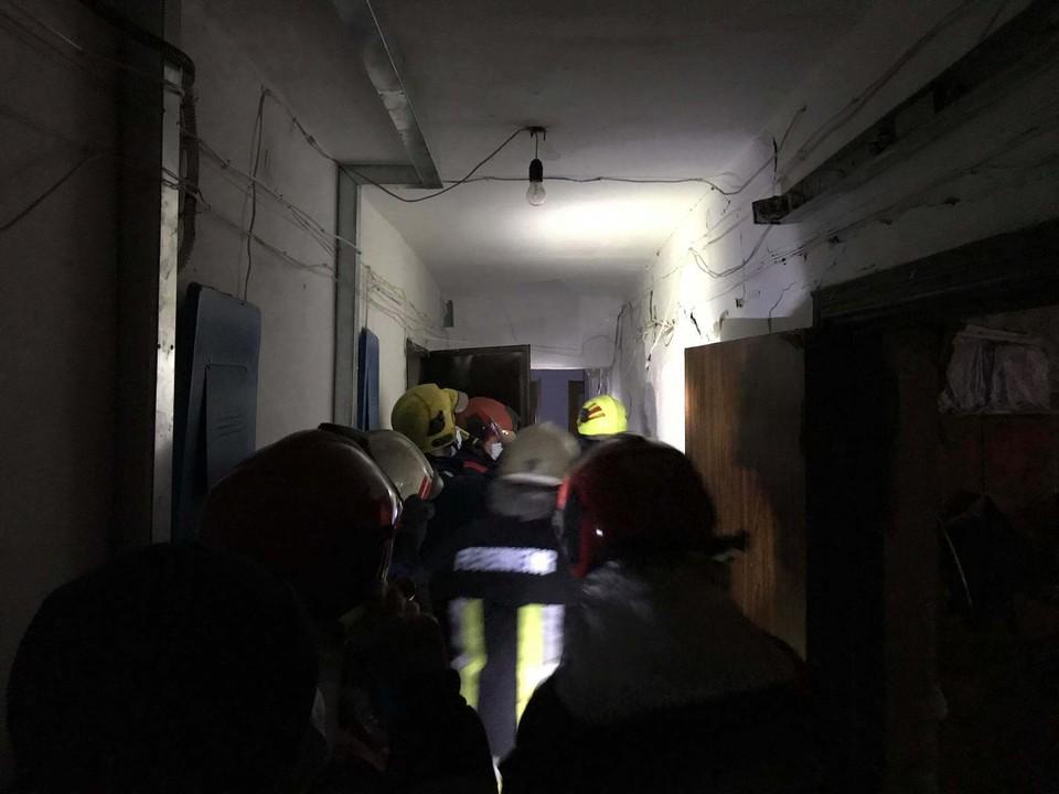 На месте ЧП работали четыре пожарных расчета (Фото: dse.md).